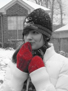 Jacs pic in snow